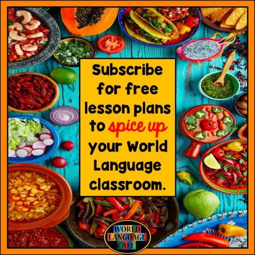 World Language Cafe Lesson Plans
