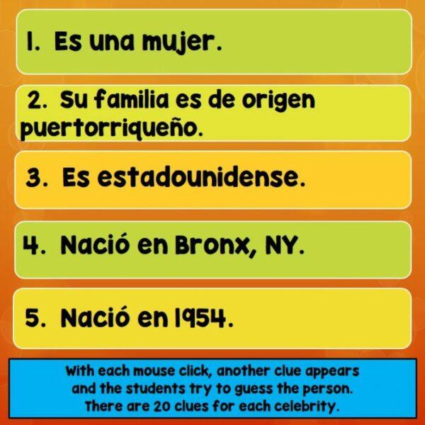 Famous Hispanics, Francophones PowerPoint, Lesson Plans, Activities