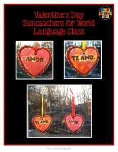 Make this French, Spanish Valentine's Day craft with your students.