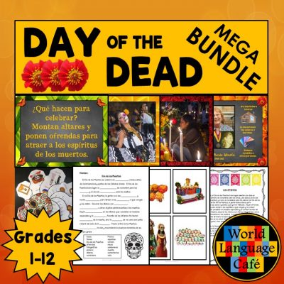 Day of the Dead Spanish Lesson Plans, Activities, Crafts