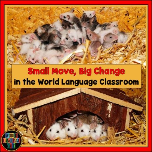 Changing Habits in Your World Language Classroom