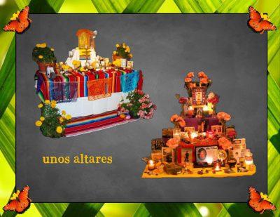 Day of the Dead, Día de los Muertos Altars
