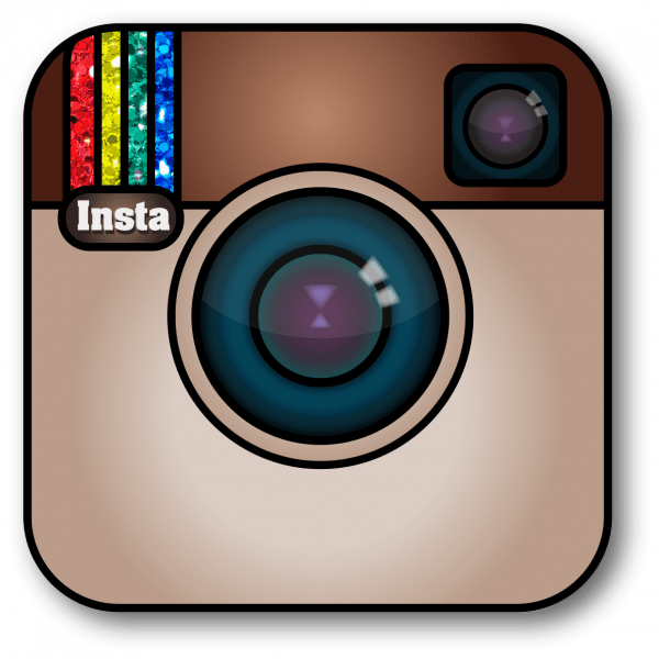 Instagram Social Media Button