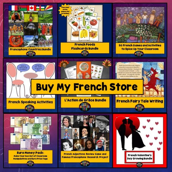 Buy My French Store Raffle