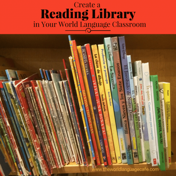 Reading Library, World Language Classroom