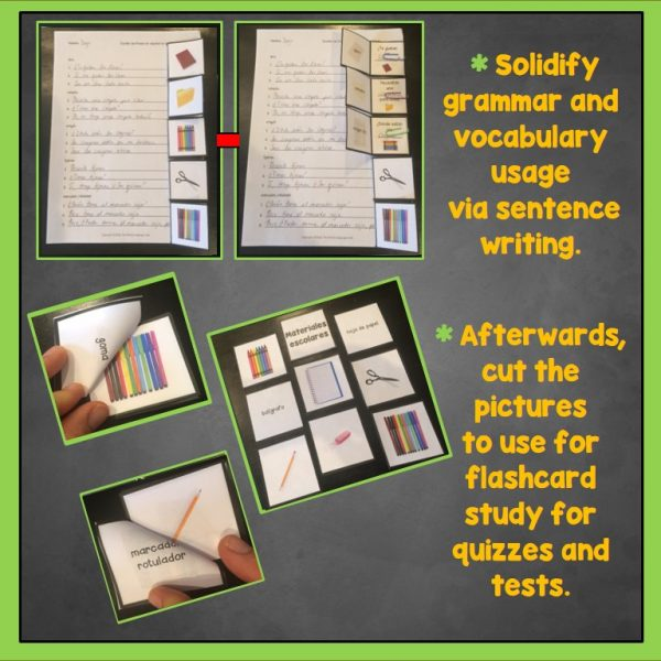 Use Trifold Flashcards in Your World Language Classroom