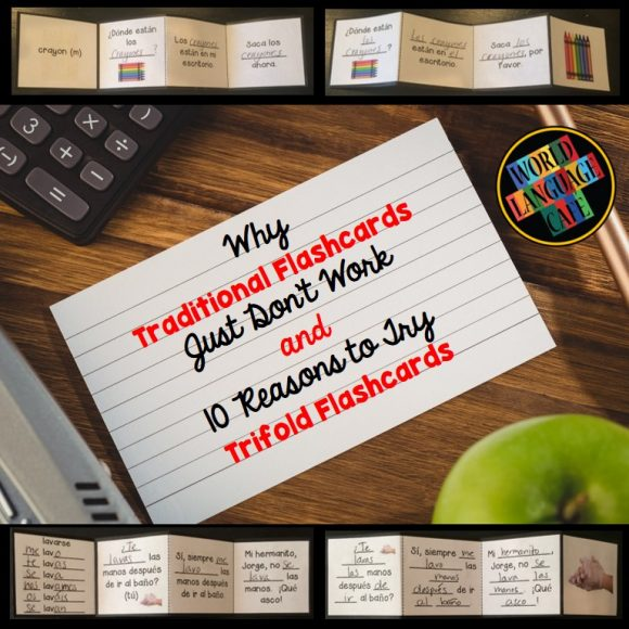 Using Trifold Flashcards in Your World Language Classroom