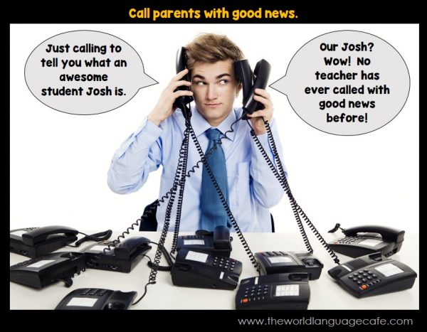 Call Parents of Your Students with Good News