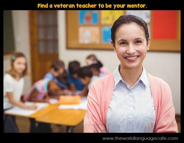 Find a Veteran Teacher to Mentor You