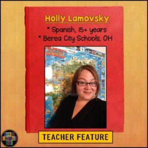 Teacher profile of Spanish teacher Holly Lamovsky
