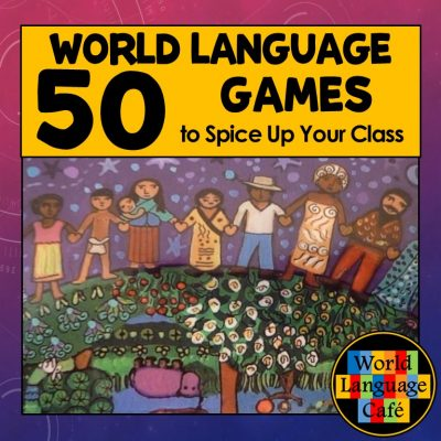 French, Spanish Review Games, World Language, Free