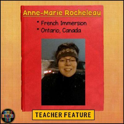 Teacher Feature - Anne-Marie Rocheleau, World Language Cafe