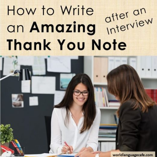 How to Write a Thank You Note after a Teaching Interview