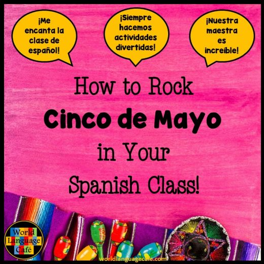 Cinco de Mayo, Lesson Plan, Activity, PowerPoint, Mexico, Recipes, Spanish Class