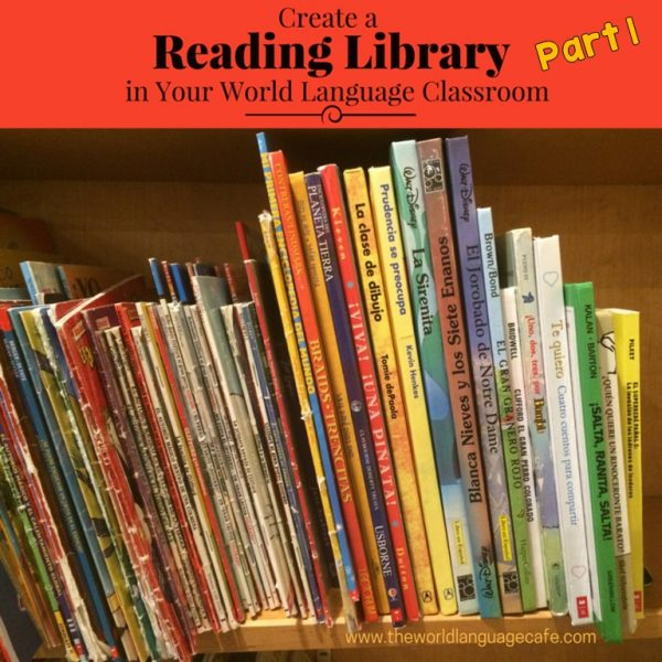 French, Spanish Library in Your Classroom