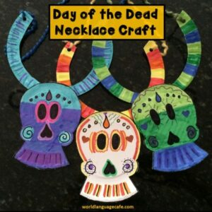 Day of the Dead craft activity, craftivity for Día de los Muertos