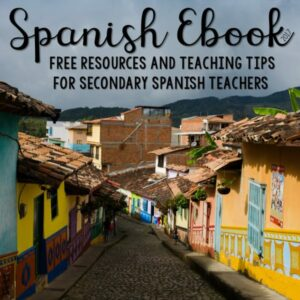 Spanish Ebook - Free Resources, Lesson Plans, Games, Activities