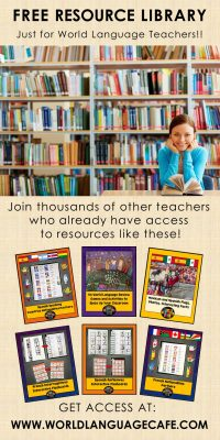 French, Spanish Free Lesson Plans, Activities, Games