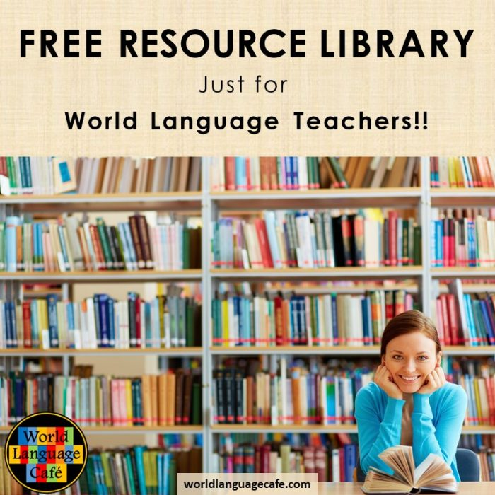 Free French, Spanish Lesson Plans, Activities, Games