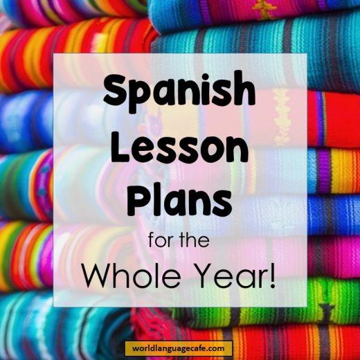 Spanish Lesson Plans, Spanish Games, Spanish Activities, Spanish Resources, Spanish Year Long Curriculum