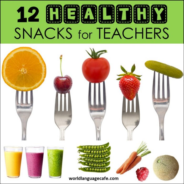 Healthy snacks that teachers can eat in a hurry at school