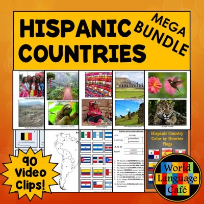 Hispanic Countries Lesson Plans, Spanish Speaking Countries Lesson Plans