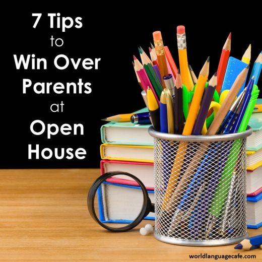 Open House, Back to School Ideas for Teachers