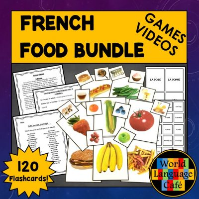 Engaging lesson plans for French foods and nourriture