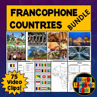 French speaking countries lesson plans, Francophone countries lesson plans