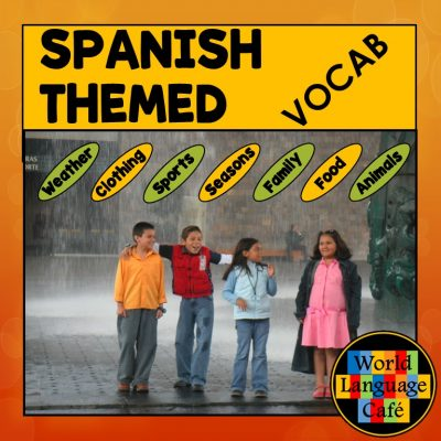 Spanish Vocabulary Lists by Topic