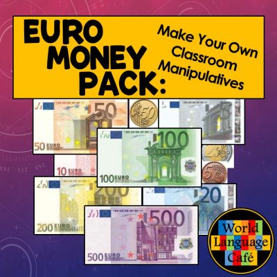 Euro Play Money, Manipulatives for Class