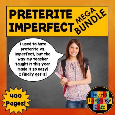 Spanish Preterite Imperfect Lesson Plans, Games, Activities