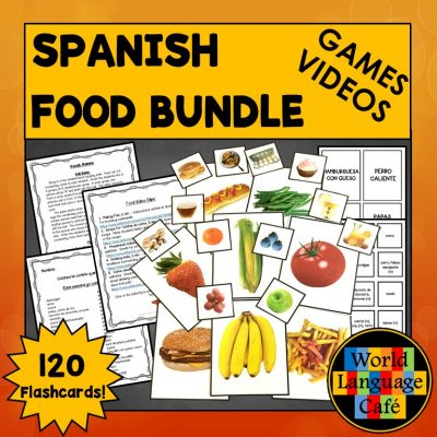 Lesson Plans for Spanish Foods and Comida