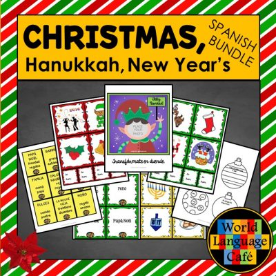 Spanish Christmas, Hanukkah, and New Year's Lesson Plans