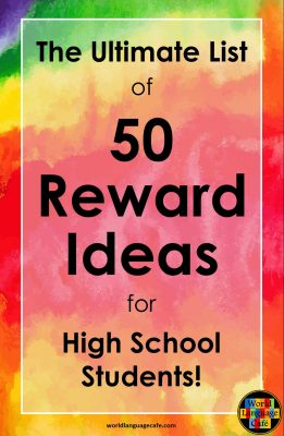 50 Reward Ideas for Middle School or High School Students