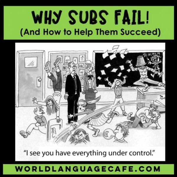 Why Spanish Sub Plans Fail