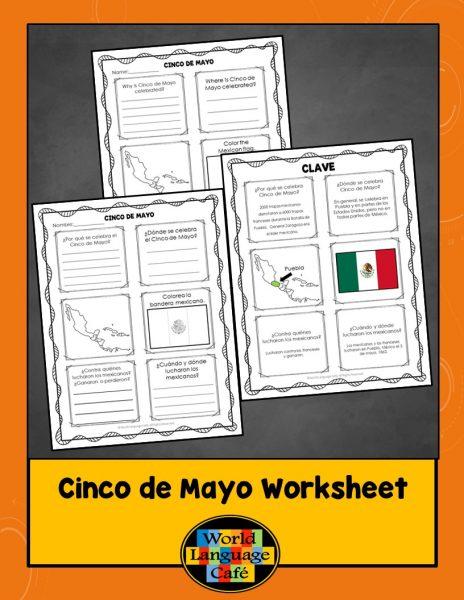 Cinco de Mayo Spanish Activities