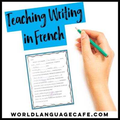 French Writing Projects