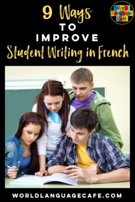 Ways to Improve Writing in French