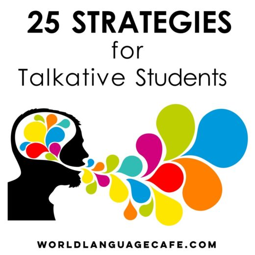 25 Strategies for Chatty Students