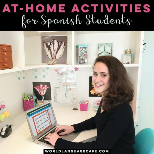 At Home Spanish Activities