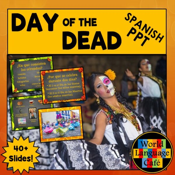 Day of the Dead Spanish PowerPoint