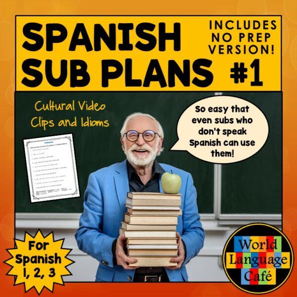Spanish Substitute Plans