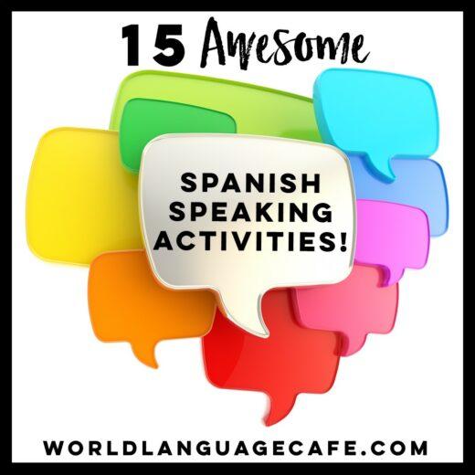 Spanish Speaking Lesson Plans