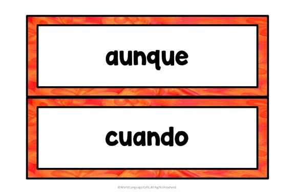 Spanish Indicative or Subjunctive Triggers