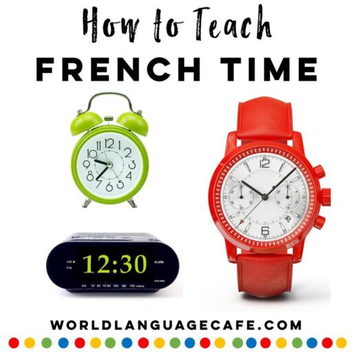 French Time Activities
